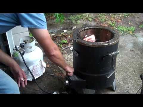 Cooking with Ed Big Easy Ribs In the Gas and Electric Big Easy