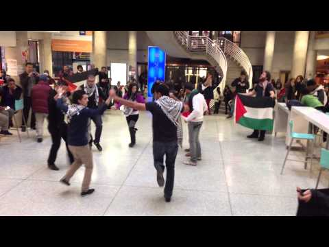 MESA York U & ASA Seneca Dabke Flash Mob