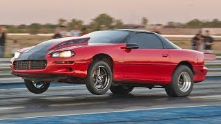 98mm Turbo Camaro with a NASTY 2-Step!