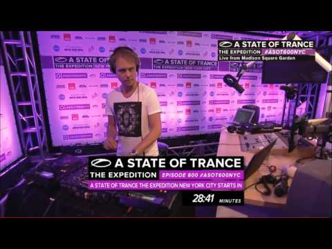 Armin Van Buuren - A State Of Trance 600 Warm Up New York 30.03.2013