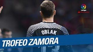 Jan Oblak - Trofeo Zamora LaLiga Santander 2017/2018