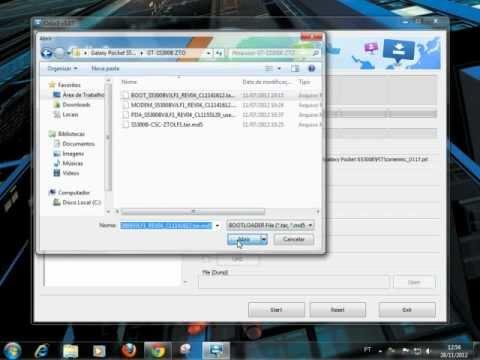 Reinstalando Firmware Original Galaxy Y GT-S5367