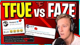 The TRUTH about Tfue vs FaZe Clan.. Ninja, Daequan, and TSM Myth Can't Believe It