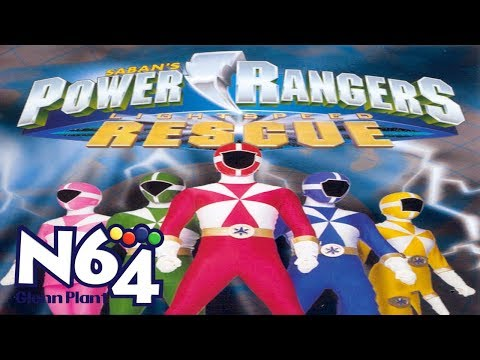 Power Rangers Lightspeed Rescue - Nintendo 64 Review - HD