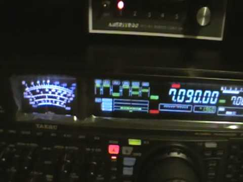HAM RADIO DX - OE6MBG/KH6 Hawaii- 40M YAESU FT-2000D