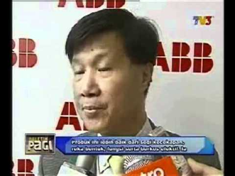 ABB Malaysia Star Launch on TV3 news