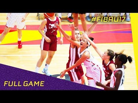 Canada v Latvia - Full Game - 2016 FIBA U17 Women's World Championship