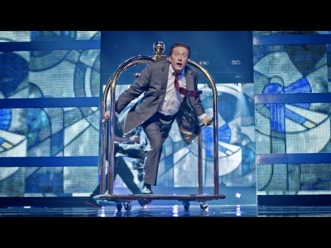 Rowland Rivron Dances To 'weapon Of Choice' - Let's Dance For Sport Relief 2012 - Bbc One video