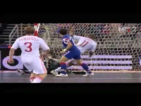 Hrvatska : Rusija 2:4 - UEFA Futsal Euro Croatia 2012