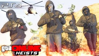 GTA 5 Online (Heists) - Кража Супер-Броневика! #102
