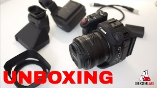 Canon XC15 Detailed Unboxing & First Impression