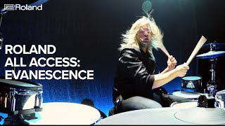 Roland All Access: Will Hunt, Drummer for Evanescence