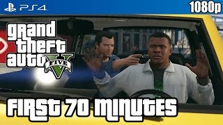 Grand Theft Auto V (PS4) First 70 Minutes Gameplay [1080p] TRUE-HD QUALITY