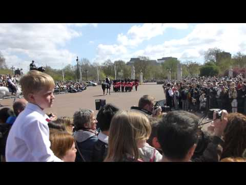 Changing of the Guards at Buckingham Palace 2015