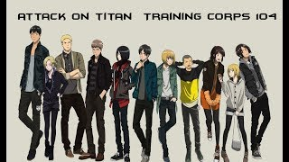 Attack on titan Training Corps 104 - Body Motion