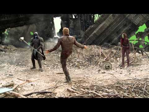Marvel's Guardians of the Galaxy bonus clip - Xandar Crash Site   HD