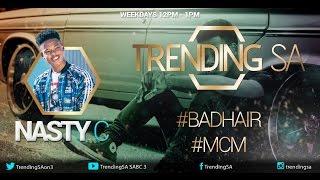 Nasty C live on Trending SA (19 September 2016)