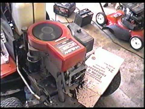 ( HOW TO ADJUST VALVES) FIX HARD TO START Lawn Tractor with OHV Briggs Engine- MUST SEE- Part 2/2