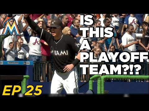 MLB The Show 18 Franchise - Miami Marlins | CAN WE SHOCK THE MLB?! EP 25
