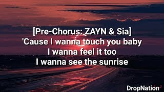 ZAYN - Dusk Till Dawn ft. Sia Lyrics/Lyric Video