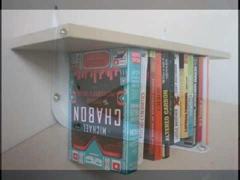 C mo hacer un librero invertido youtube for Libreros modernos