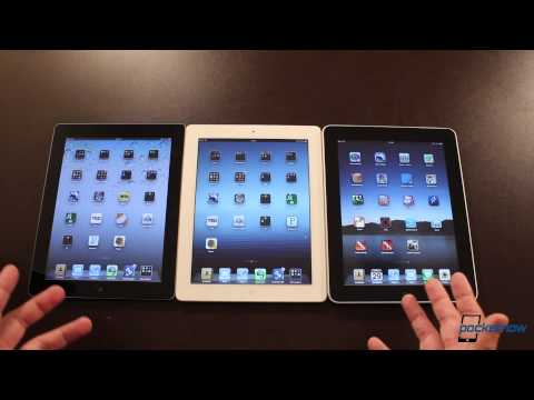 New iPad vs. iPad 2 and Apple's First iPad