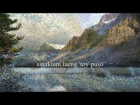 Ta Dennam Awan Nagbasolak(f) (ilocano Song W lyrics) video