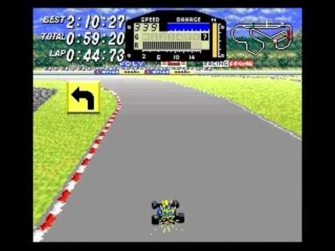Race #1303 (of 5008?) in my 2012 BPISPORTS.COM Man v. Game challenge on the Super Nintendo Entertainment System's F1 ROC: Race of Champions (known in Japan a...