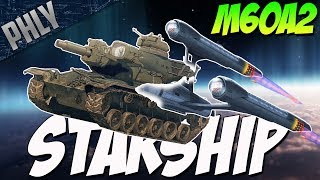 M60A2 STARSHIP - FIRE Photon Guided Torpedoes (War Thunder Tanks Gameplay)
