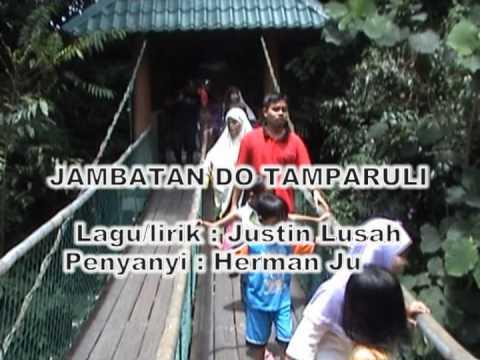 Lagu Tanah Di Bawah Bayu~Sabah@ Jambatan Tamparuli (With lyrics and translation)