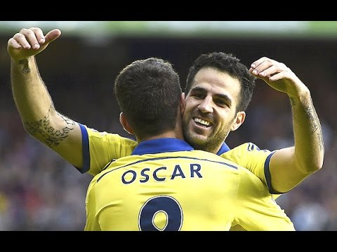 Cesc Fabregas vs Crystal Palace ● Individual Highlights (18.10.2014) HD