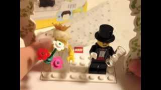 LEGO review - 853340 Minifigure Wedding Favor Set - (with English subtitles [cc] )