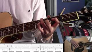 """How to play """"Fireflies"""" on guitar like Sungha Jung RE-DONE part two"""