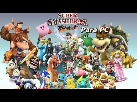 Descargar Super Smash Brawl para  PC - Prueba del juego