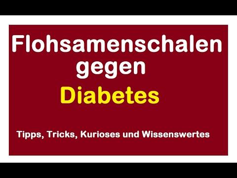Flohsamenschalen gegen Diabetes Flohsamen - Entlastung Bauchspeicheldrüse