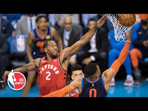 Download Lagu  Russell Westbrook ties it late, but Raptors beat the Thunder in OT | NBA Highlights Mp3 Free