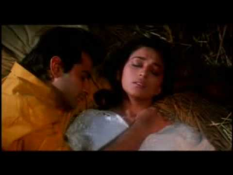 Madhuri Dixit Romanic Scene In Raja Www Phondi video