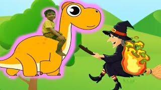 Phiêu lưu vào thế giới khủng long tập 3 Khủng long cổ dài hoạt hình Kênh trẻ em - video cho bé yêu