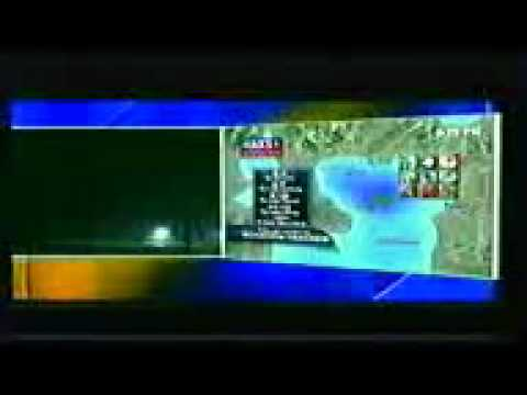 April 14, 2011 Tornado Warnings in Arkansas & Oklahoma both (KFSM-TV)