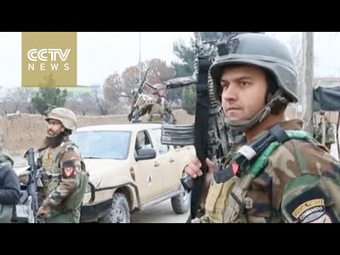 Afghan forces besiege insurgents near Indian consulate in Mazar-i-Sharif