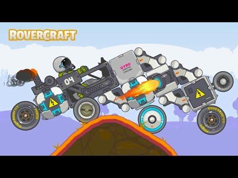 Гонки на САМОДЕЛЬНЫХ МАШИНКАХ Тачках Вездеходах Мульт Игра для детей RoverCraft #5
