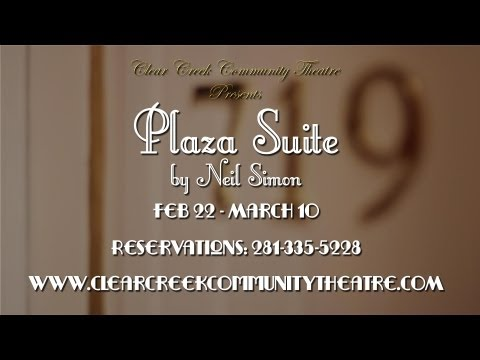 Plaza Suite Trailer: Feb22 - March 10, 2013 at CCCT