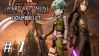 Let's Play Sword Art Online - Fatal Bullet: Part 1 Cyrus Blacksword In GGO
