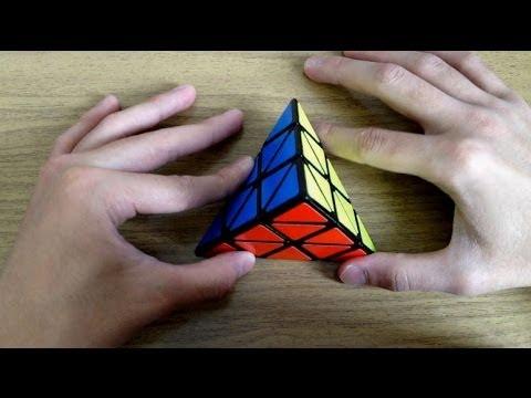 Pyraminx. Обучающее видео (метод Keyhole).