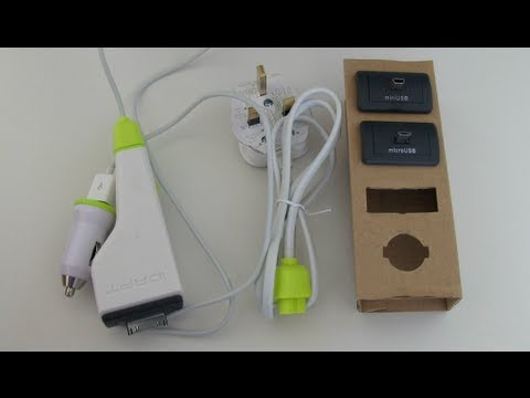 iDapt i1 Eco Multi-Tip Universal Charger Review