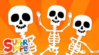 The Skeleton Dance | Halloween Song for Kids | Super Simple Songs