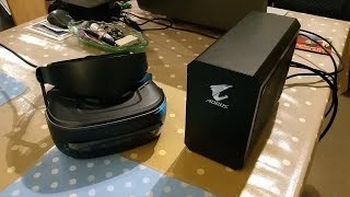 Gigabyte Nvidia GTX1080 eGPU for VRChat