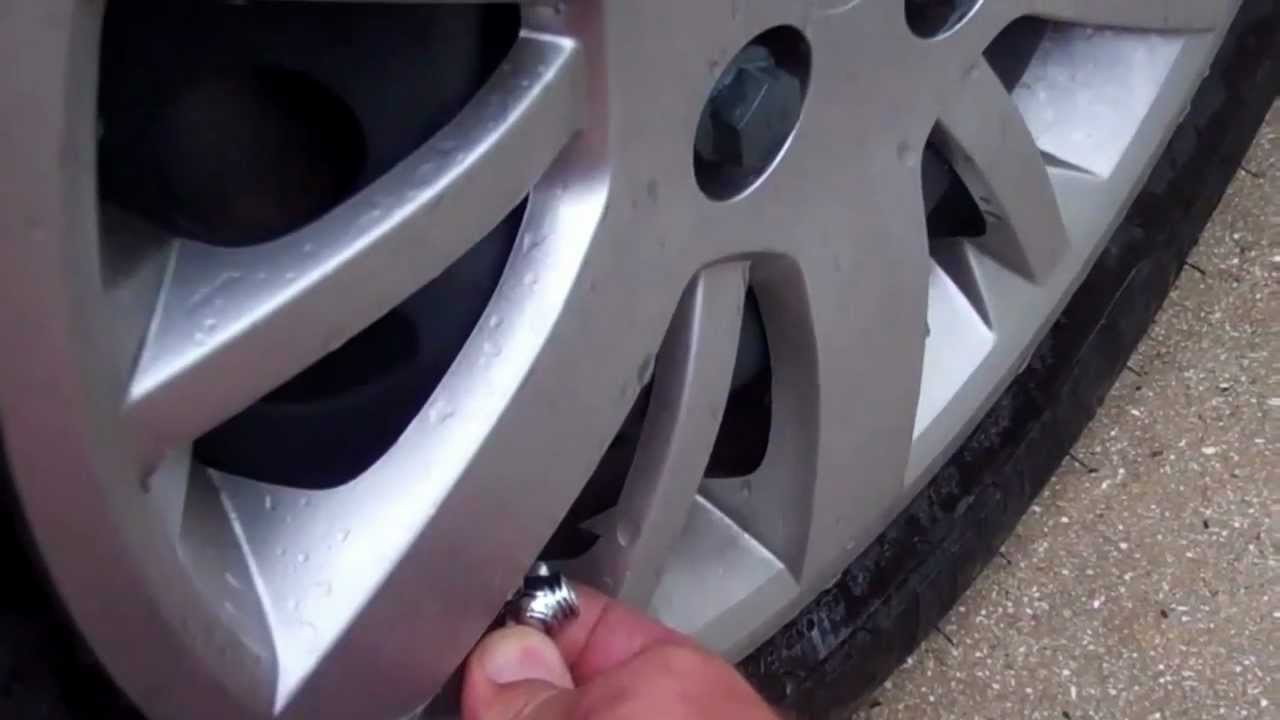 tire pressure monitoring system tpms chevy cobalt youtube