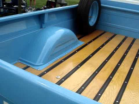 Gmc Long Bed Wood Installation