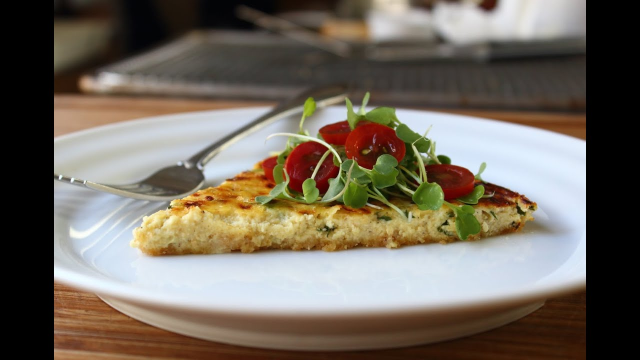 Savory Ricotta Tart - Easy Herbed Ricotta Pie Recipe - YouTube